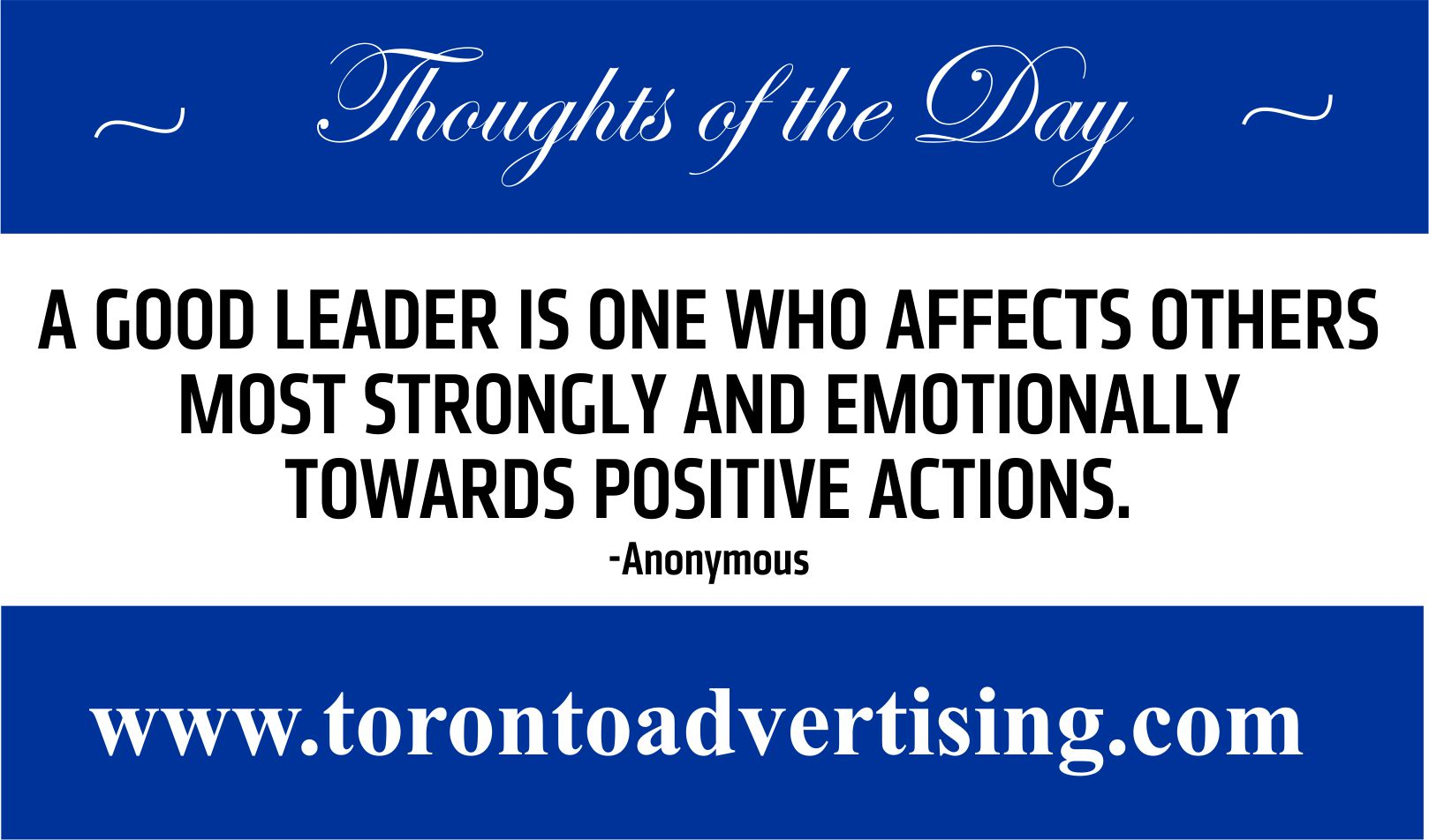 Toronto Advertising Staff